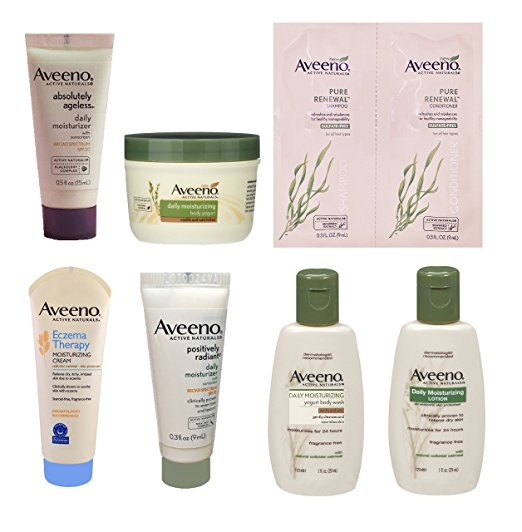 amazon sample box aveeno sample box