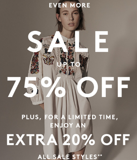 barneys Take an Extra 20 Off Sale