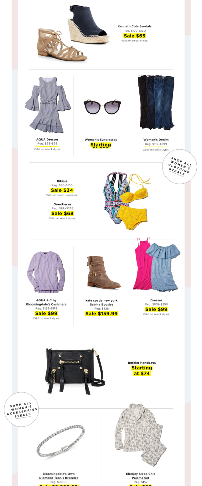Bloomingdale's deals and steals jul 2017 2 see more at icangwp blog
