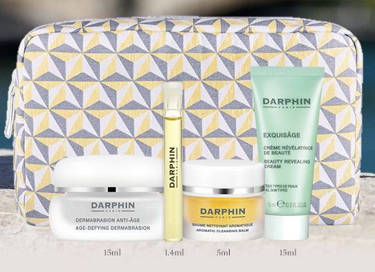 Darphin Last Day to Receive a Free 5 Piece Gift jul 2017 see more at icangwp blog