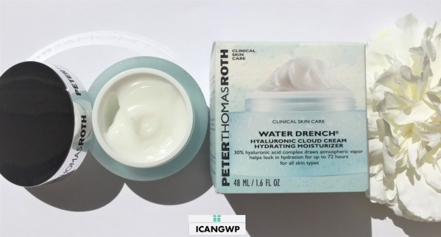 Peter Thomas Roth Water Drench Hyaluronic Cloud Cream Review by icangwp blog your gift with purchase destination box