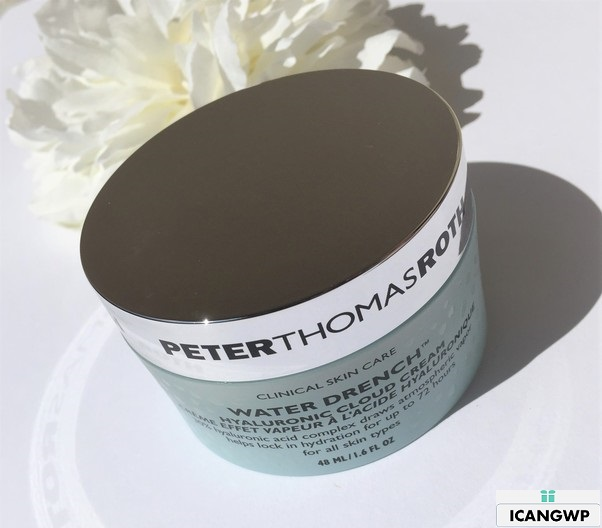Peter Thomas Roth Water Drench Hyaluronic Cloud Cream Review by icangwp blog your gift with purchase destination