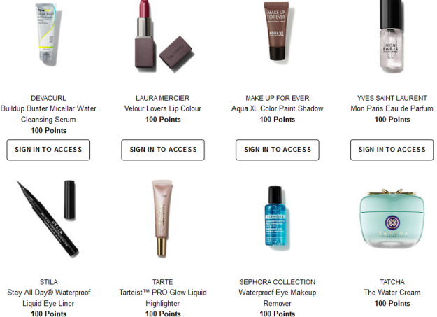 sephora rewards 100 jul 2017 Welcome to the Beauty Insider Rewards Bazaar  3 Sephora.png