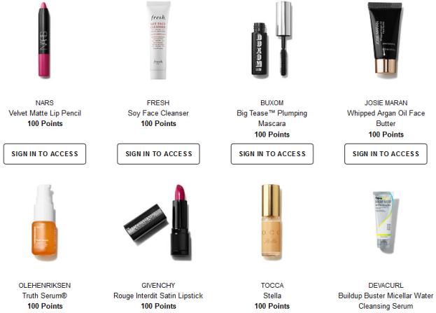 sephora rewards 100 jul 2017 Welcome to the Beauty Insider Rewards Bazaar Sephora