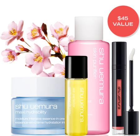 Shu Uemura 45 gwp jul 2017 the hottest offer and deals from Shu Uemura