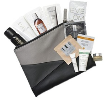 All SPACE.NK.apothecary Nordstrom sample bag aug 2017