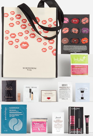 *HOT* Nordstrom Free 12-piece Beauty Sample Bag and Clinique Bonus August at Bloomingdale's