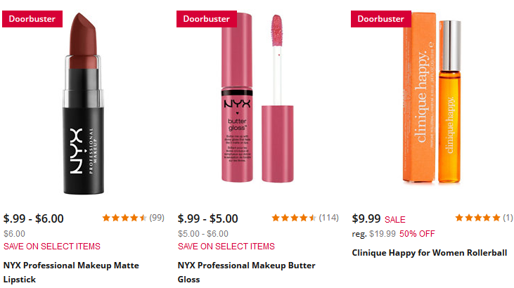 Beauty Products on Doorbuster Stage Stores aug 2017 nyx see more at icangwp blog