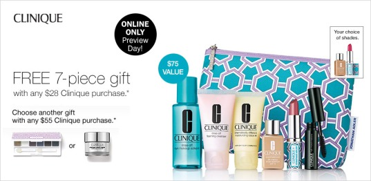 bon ton 7pc gift w clinique purchase aug 2017 see more at icangwp blog