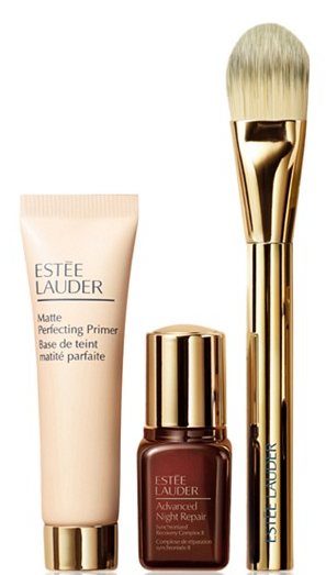 BONUS OFFER 3 Pc. Double Wear Makeup Set Only 10 with any Estée Lauder Foundation Purchase Gifts with Purchase Beauty Macy s