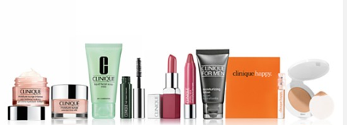 Choose 1 deluxe sample for every 25 you spend in Clinique Bloomingdale s