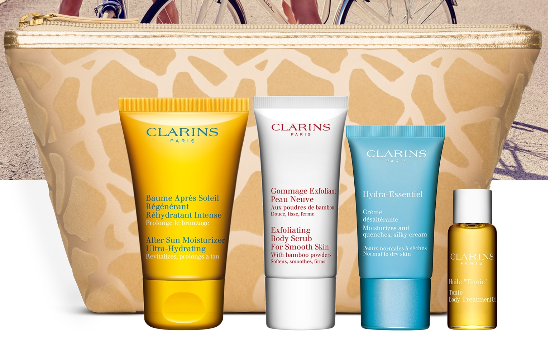 clarins gift w 100 Gift with Purchase Free Shipping and Samples