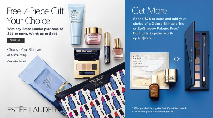 Dillard s estee lauder step up gift aug 2017 see more at icangwp blog