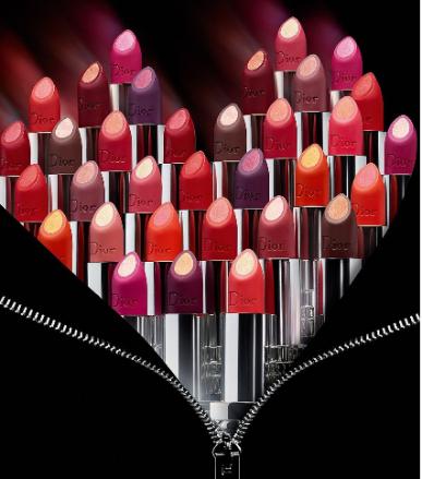 Dior Double Rouge Matte Metal Colour Couture Contour Lipstick Dillards