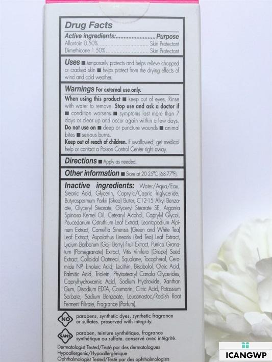 June Jacobs Rapid Repair Healing Cream Review by IcanGWP blog ingredient