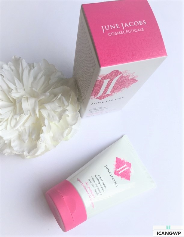 June Jacobs Rapid Repair Healing Cream Review by IcanGWP blog your gift with purchase destination