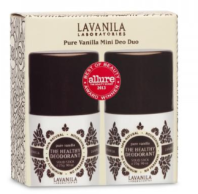 Lavanila Pure Vanilla Mini Deo Duo b glowing