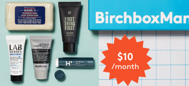new Grooming Box Subscription for Men BirchboxMan