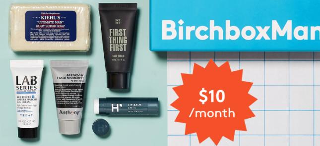 new Grooming Box Subscription for Men BirchboxMan