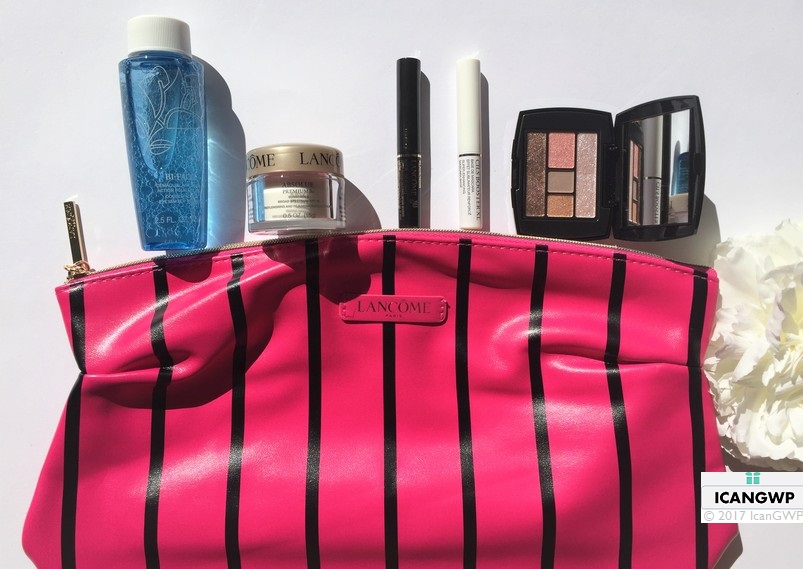nordstrom anniversary lancome gift with purchase review by icangwp haul beauty blog your gift with purchase destination