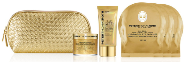 Peter Thomas Roth 6 Pc 24K Gold Set Only 29.00 at Macy s 130 Value png