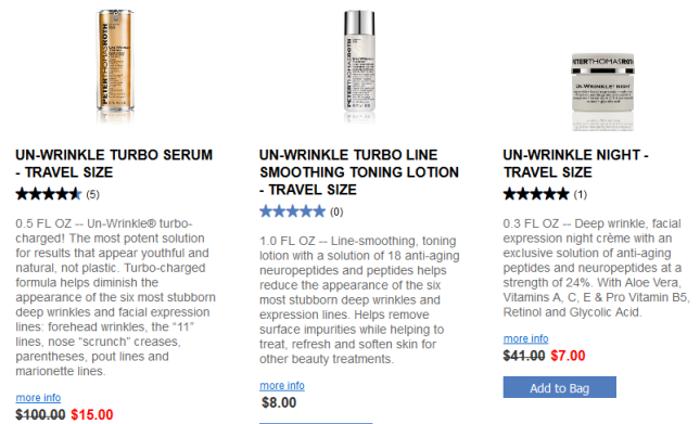 Peter Thomas Roth Travel Sizes labor day aug 2017 see more at icangwp blog