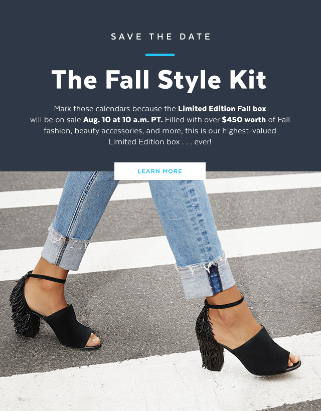 popsugar limited edition fall 2017 box aug 2017 see more at icangwp blog