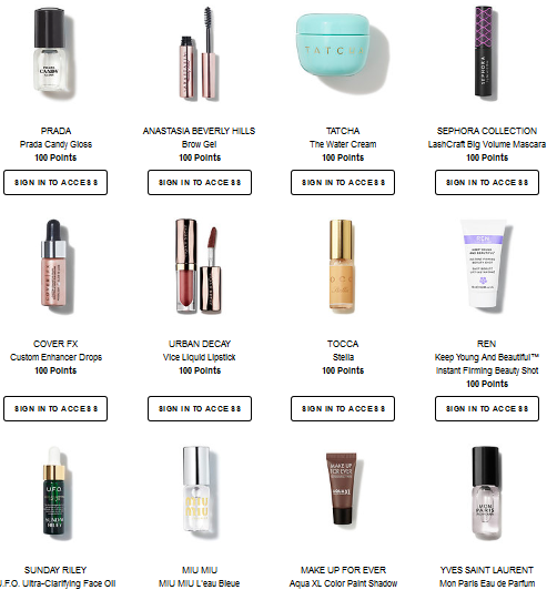 Sephora rewards aug 2017 see more at icangwp blog