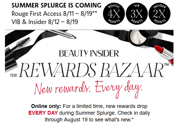 sephora summer splurge event aug 2017 see more at icangwp blog