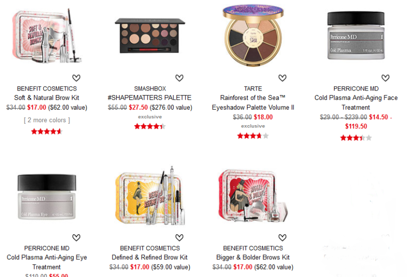 Sephora weekly wow deal 2