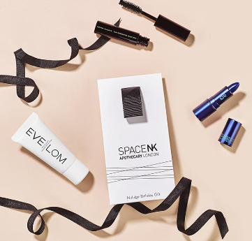 Space NK birthday gift aug 2017 Luxury Beauty Products Skincare Makeup