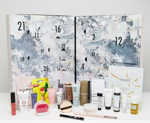 ASOS Advent Calendar 2017 - beauty advent calendar 2017. See more at I can GWP blog - limited edition source