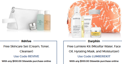Bluemercury coupon revive gwp sep 2017 see more at icangwp blog Beauty Treats on Us