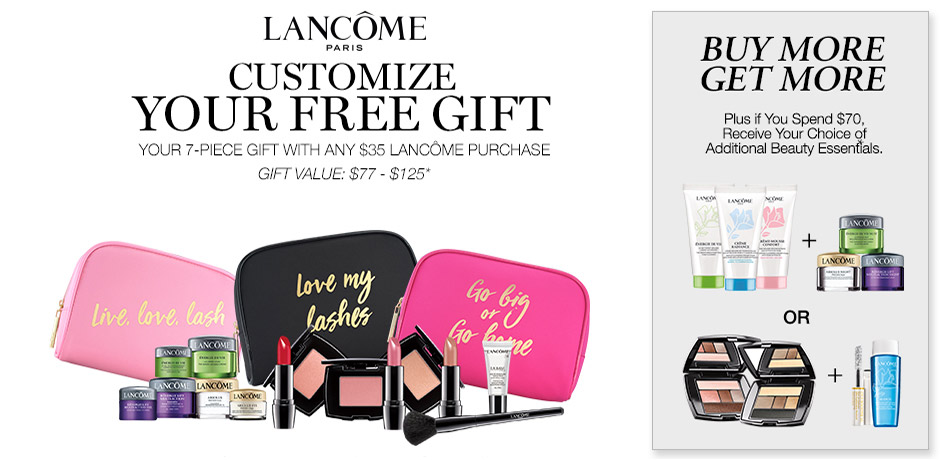Lancome Gift with Purchase Fall 2017 & Labor Day Deals – GWP ...