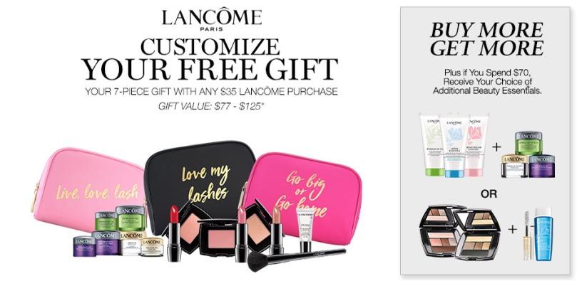 bonton lancome gift sep 2017
