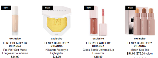 FENTY BEAUTY by Rihanna Sephora