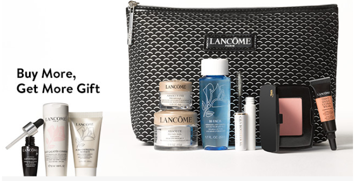 Nordstrom lancome gift with purchase 7pc w 3950 see more at icangwp blog