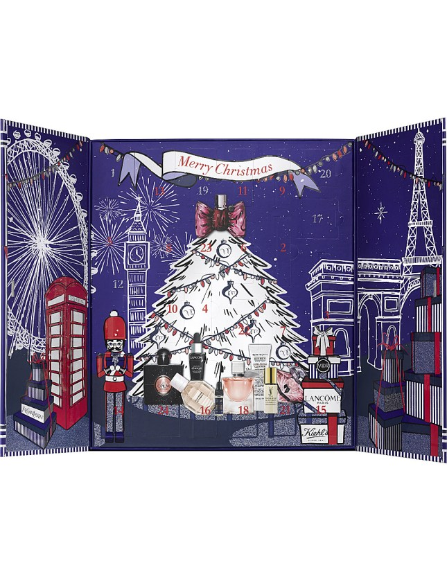 Selfridges beauty advent calendar 2017 2 - see more at icangwp blog - your limited edition beauty box source