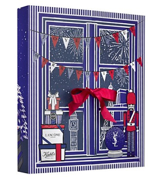 Selfridges beauty advent calendar 2017 - see more at icangwp blog - your limited edition beauty box source