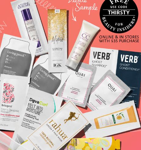 sephora coupon thirsty hair sample bag sep 2017 see more at icangwp blog