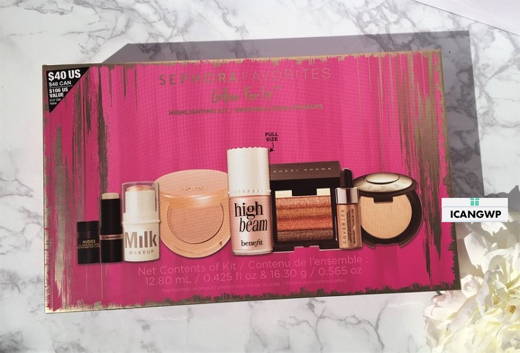 Sephora Favorites Glow For It 2017 - See more at icangwp blog your limited edition beauty source sep 2017
