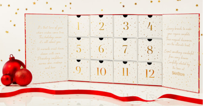 SkinStore beauty advent calendar 2017 12 Miracles of Beauty 2017 - see more at icangwp blog - your limited edition beauty source