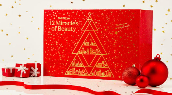 SkinStore beauty advent calendar 2017 12 Miracles of Beauty - see more at icangwp blog - your limited edition beauty source
