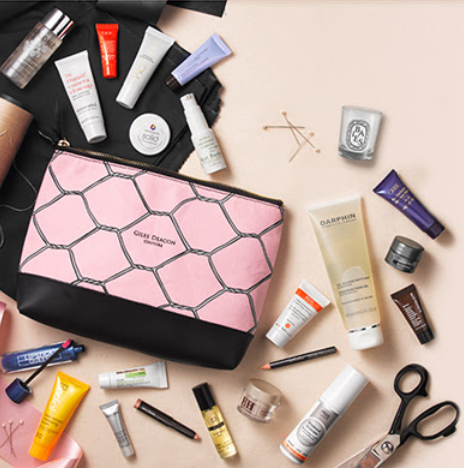 Space NK uk Beauty Bag sep 2017 see more at icangwp blog