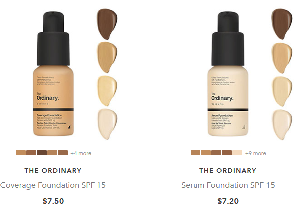 beauty bay the ordinary foundation