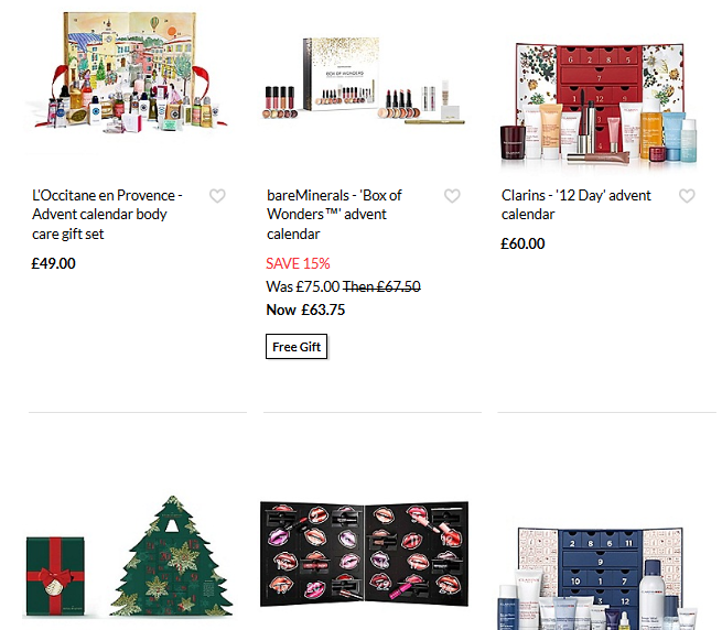 skinstore beauty advent calendar full spoilers susanne. Black Bedroom Furniture Sets. Home Design Ideas