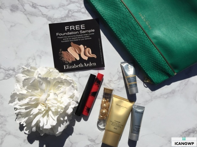 Elizabeth Arden Gift with Purchase 2017 haul from Belk - see more at icangwp blog