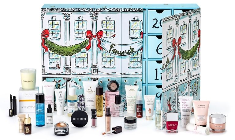 fenwick beauty advent calendars 2017 - see more at icangwp blog