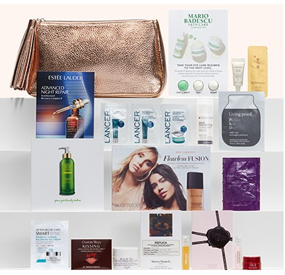Gift with Purchase Nordstrom 17 w 100