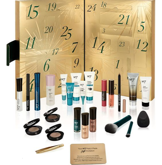 64aef0402cd Beauty Advent Calendar 2017 – All the best from No 7, Harrods ...
